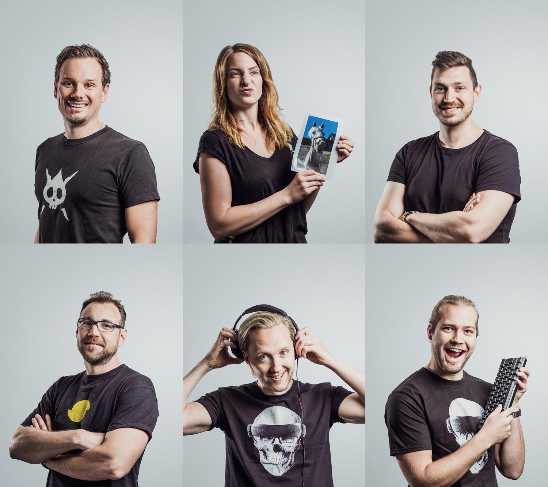 Personalporträtt och gruppbild fotografering i Linköping Östergötland
