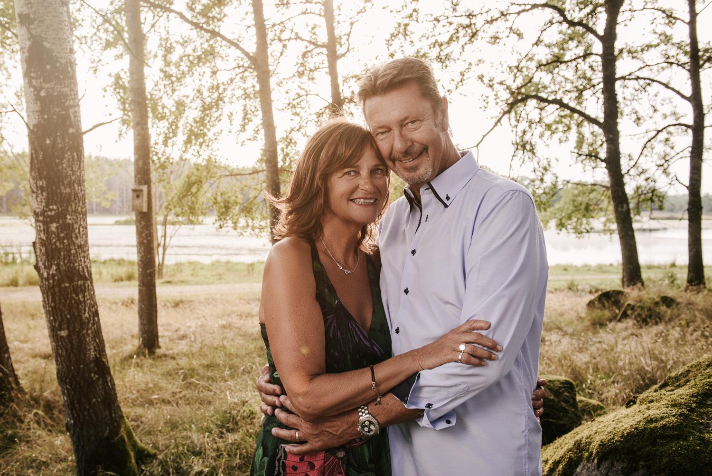 Familjefotografering utomhus i norrköping
